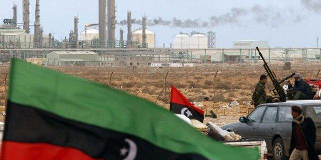 нефть ливия