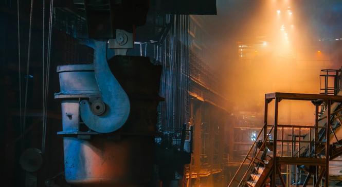 Рост промышленного производства РФ замедлился до 2,4%